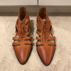 NWOT leather sandal/shoe